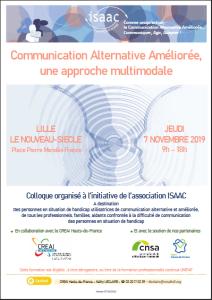 Communication Alternative Améliorée, une approche multimodale