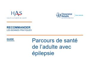 Nouvelle recommandation de bonne pratique Epilepsies