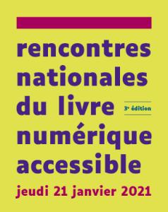 Rencontres nationales du livre numérique accessible
