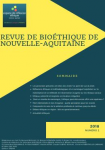 n°2 - 2018 - Revue de bioéthique de Nouvelle-Aquitaine