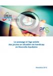 Le passage à l'âge adulte des jeunes en situation de handicap en Nouvelle-Aquitaine