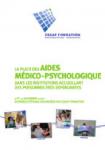Journées d'étude de CESAP Formation : La place des aides médico-psychologique dans les institutions accueillant des personnes très dépendantes (9-10 novembre 2006)