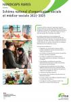 Schéma national d'organisation sociale et médico-sociale pour les handicaps rares 2021-2025. Synthèse